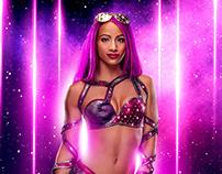 WWE Retouch - Digital Composition