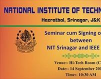 IEEE Seminar Banner
