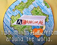 [Video] Two Million Hellos From Around The World