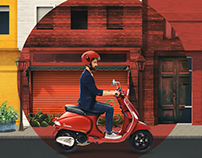 Vespa Side of Life : Interactive Video