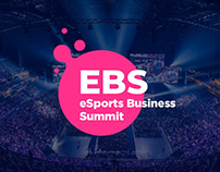 Лендинг eSports Business Summit 2018
