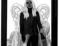 PVRIS concert poster (AUTOGRAPHED)