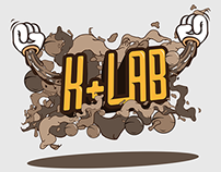 K+Lab Logo & Website