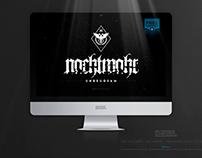 NACHTMAHR • Unbeugsam Logo+Lettering v1 • FREE DOWNLOAD