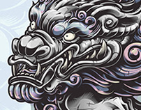 Komainu Vector Illustration