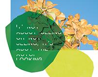 Poster design: Half-helvetica