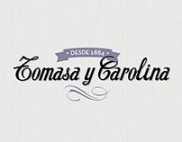 Tomasa y Carolina / web & logo restyling