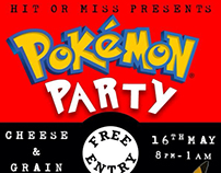 Local venue promotion: POKÉMON PARTY!
