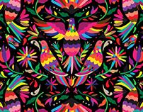 otomi vector patterns