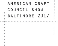 American Craft Council Show Baltimore