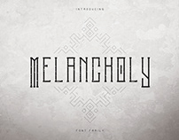 Melancholy Display Typeface | Free Font