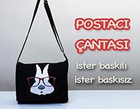 Toptan Kanvas Postacı Çanta - Wholesale Messenger Bags