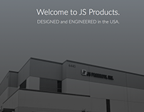 JS Products Corporate Web Site