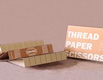 THREAD PAPER SCISSORS