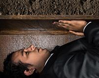 """Retoque y fotomontaje - """"El entierro prematuro"""""""