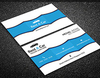 Rent A Car Business Card Vol 01