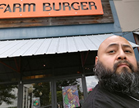 New Vegan Burger - Poster Illustration