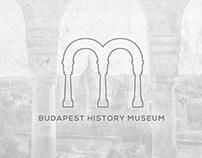 Budapest History Museum - Logo and Identity design