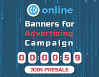 Banners for Advertising Campaign