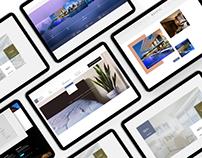 Deific Property - Web Design FREE XD file