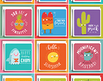 Taco cat Cards - Everyday selection