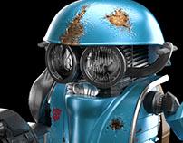 Transformer's Sqweeks CGI & Retouching