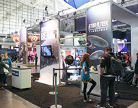 Disruptor Beam Booth Design for PAX East Boston