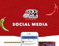 Social Media Marketing - Casa Sanchez Restaurant