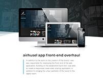 Airhusel: Branding & App Design