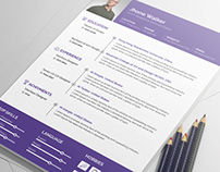 Jhone Walker Resume Template