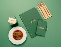 Moa Restaurante - Branding