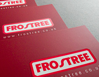 Frostree - clean and clear brochure design