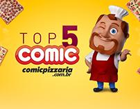 VT Comic Pizzaria Top 5