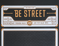 Be-street Cover /// Papercraft