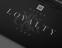 DESAR LOYALTY CARD DESIGN