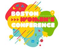 Boston Women's Conference Identity & Animation
