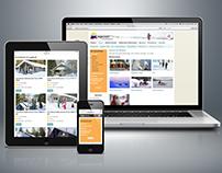 Responsive website tuja reisen