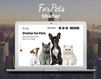 Website | Shelter for pets