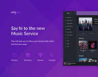 Music Service for Indie Artists