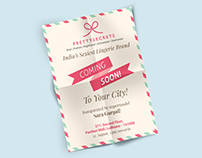 Flyer/Pamphlet Designs - PrettySecrets