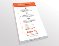 Flyer/Infographic for Antreo (Fitness App)
