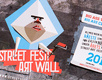 STREET FESTI ART WALL - Fictive profile & promo