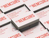 "CINEMA ""LES NEMOURS"" - BRANDING & WEBSITE"