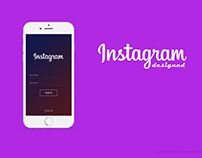 Instagram - Redisgned with updated features.