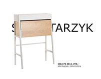 IKEA - sekretarzyk. Press