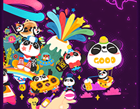 PANDA TV-2周年贺图