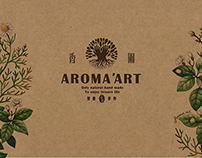 AROMA ART. BRANDING & PACKING DESIGN
