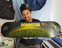 Downsyde ALL CITY Skate Deck