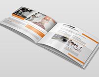 Business Portfolio Brochure Landscape