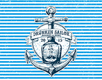 T-shirt Drunken Sailors